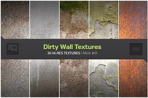 30 Dirty Wall Textures