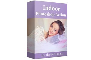 Indoor Photoshop Action Pack