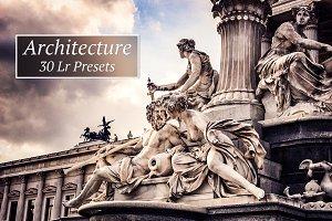 30 Architecture Lr presets