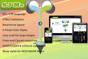 SJ Me - Personal responsive template