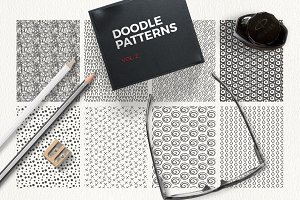 Doodle Patterns vol 2