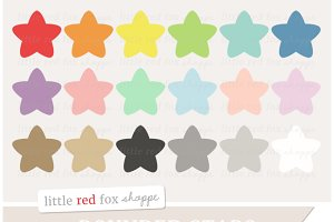 Rounded Star Clipart