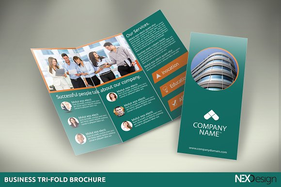 10 tri fold brochures bundle sk brochure templates creative market