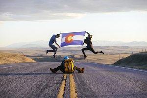 Colorado in Wyoming