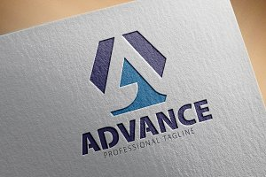 A Letter Logo/Advance