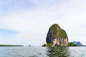 Sea and Punyi Island