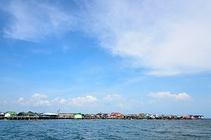 Sea and Punyi Island