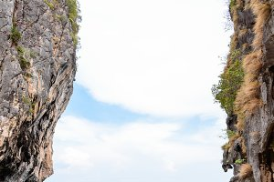 Two stone cliff