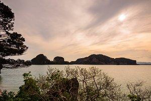 Sea around the Khao Tapu