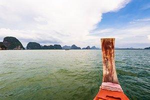 Boat tour at Ao Phang Nga Bay