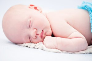 Napping Newborn