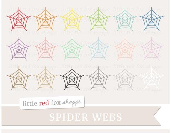Spider Web Clipart