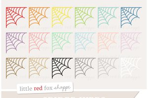 Spider Web Clipart
