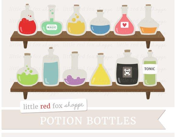 Potion Bottle Clipart