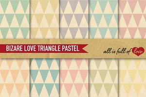 Triangle Background Vintage Patterns