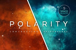 Polarity Universe Backgrounds