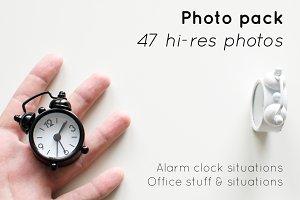 [Photo set] 47 Clock & office photos