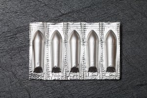 pack of suppositories