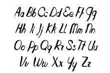 Hand Drawn Vector Alphabet