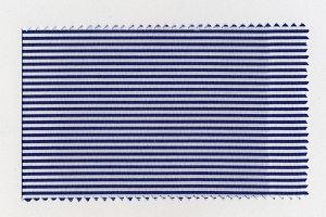 Blue Striped fabric sample