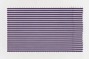 Violet Striped fabric sample