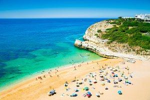 Beach on Algarve, Portugal