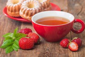 berry tea