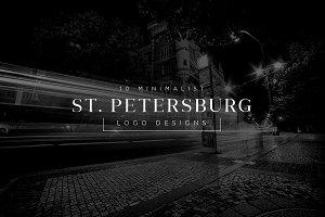 10 Minimalist Logo - St. Petersburg