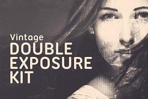 Vintage Subtle Double Exposure Kit