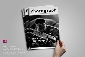 Photograph Magazine Template