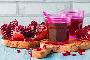 pomegranate coctail