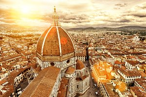 Florence sunny view