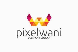 Pixelwani W Logo