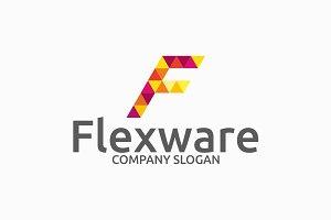 Flexware - letter F Logo