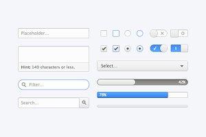 Graphite CSS UI Kit