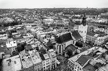 Europe city capital view