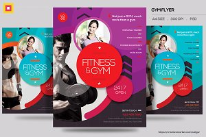 Fitness Flyer / Gym Flyer V13