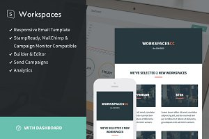 Workspaces + StampReady Builder