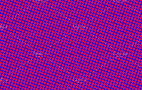 Background of pink dots on blue background