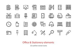 Office and Stationery elements