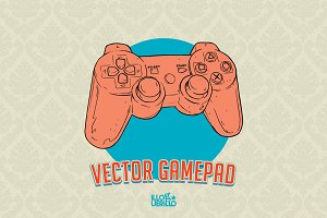 Vector PS Gamepad!