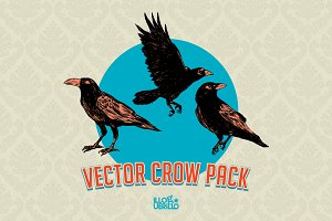 Vector Crows Pack!