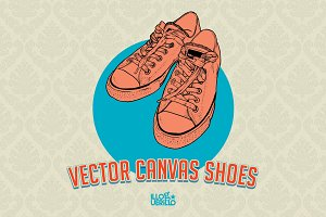 Vector Canvas Shoes!