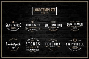 Handmade Logo Template (Vol. 2)