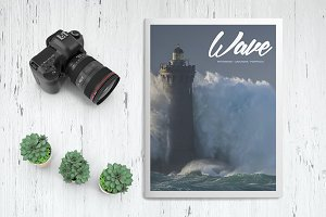 Wave Photo Book