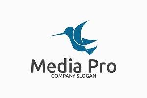 Media Pro - Bird Logo