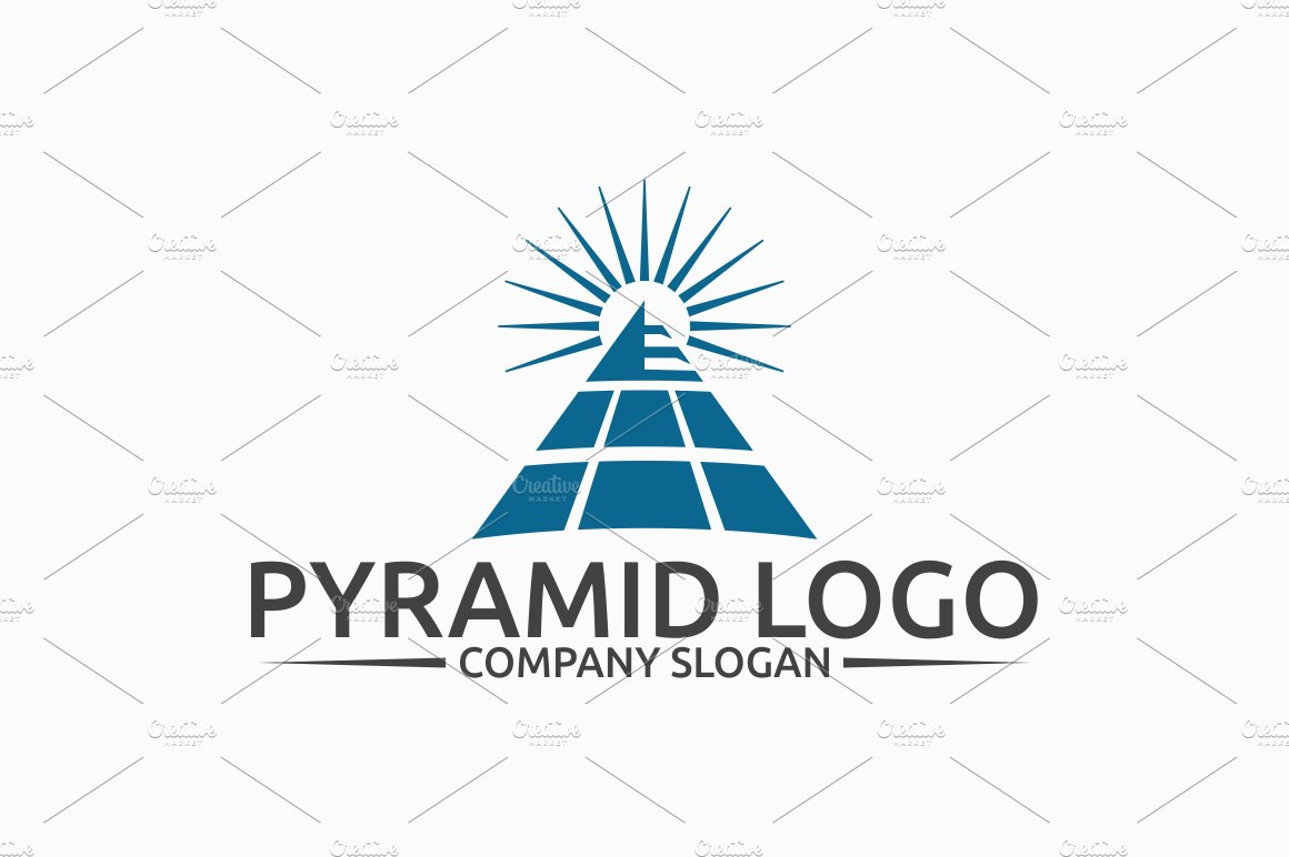 Pyramid Logo ~ Logo Templates ~ Creative Market