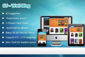 SJ Wall Blog - Technology template