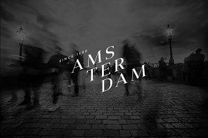 10 Minimalist Logo - Amsterdam