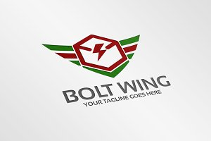 Bolt Wing – Logo Template